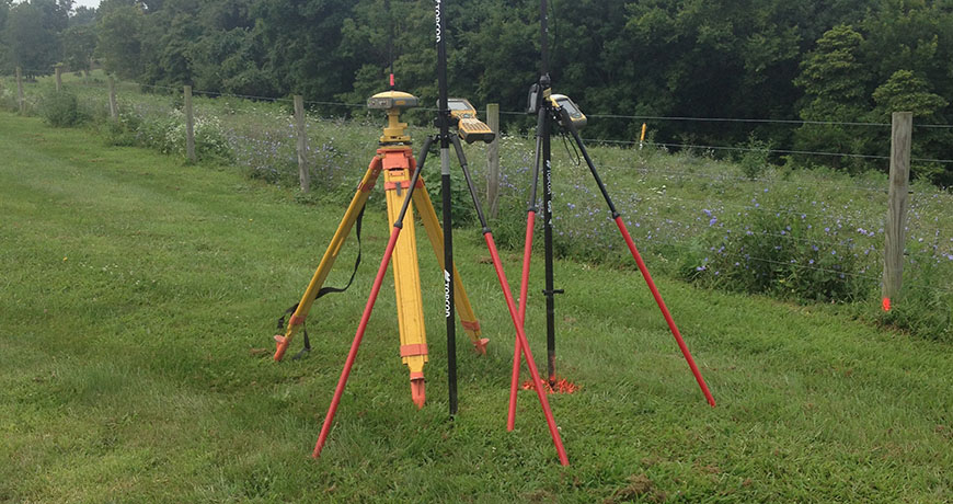 McPeek Land Surveying Services Equipment